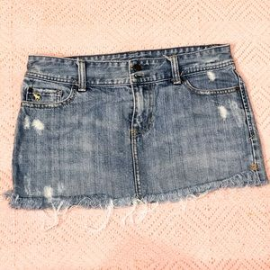 Abercrombie and Fitch Jean skirt size 4